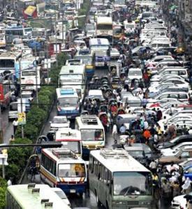 1. Dhaka traffic