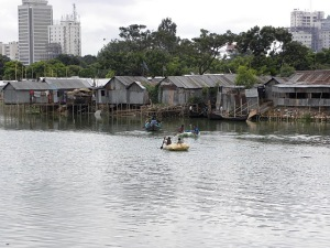 1.Community on lake edge in affluent Banani