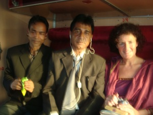 2 On train with Majhar and Thakur