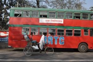 2 Patriotic bus