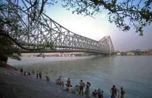 1. Howrah Bridge, Kolkata
